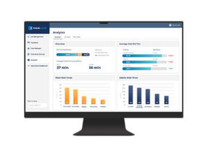 Managers can use HaulHub Analytics to analyze trucking metrics at their operation. Photo courtesy of HaulHub.