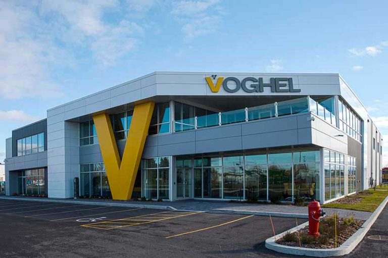 Voghel is a heavy equipment supplier for the environment and construction industries. Photo courtesy of Terex Corp.