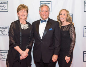 George Sidney with his wife Leanne, left, and daughter Elizabeth. Photo by PamElla Lee Photography.
