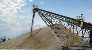 The top 20 sand and gravel producers in the nation accounted for nearly 270 million metric tons in 2016, USGS reports. Photo: Kevin Yanik
