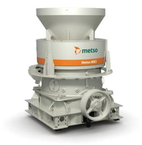 According to Metso, the new MX3 enables improved crusher productivity and lower operating costs with a design optimized especially for mid-sized quarrying. Photo courtesy of Metso