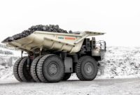 According to Metso, one of its typical truck bodies weighs 20 to 30 percent less than a traditional steel-lined truck body.