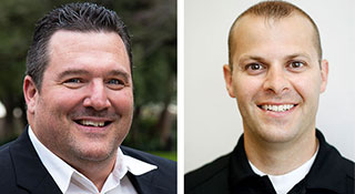 Headshots: Wilm Schulz and Luigi Petrucci