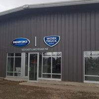 The new service center is expected to open July 2. Photo courtesy of West Coast Machinery