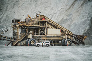 PhotoWeighing 750 tons, Graniterock's massive crusher produces more than 5 million tons of aggregate each year for the San Francisco Bay Area. Photo courtesy of BuildWitt Media Group.