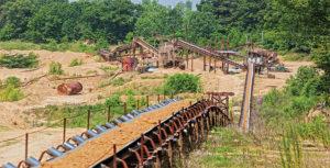 Hammett Gravel Co. is located in central Mississippi. Photo courtesy of Hammett Gravel Co.