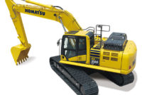 The PC290LCi-11 hydraulic excavator from Komatsu. Photo courtesy of Komatsu America.