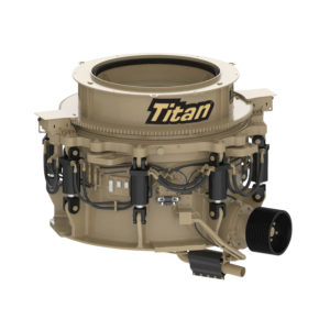 All Titan models are available as stationary units with the Titan T300 and Titan T400 also available as portable plants. Photo courtesy of Telsmith