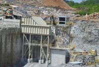 The primary crushing plant at Haydon Materials' Airport Road Quarry in Bardstown, Kentucky. Photo by Kevin Yanik