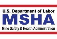 Logo: Mine Safety & Health Administration (MSHA)