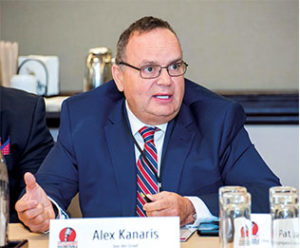 According to Van der Graaf President Alex Kanaris, his company has had hiring successes with military veterans. Photo by PamElla Lee Photography