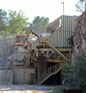 Crusher operators undoubtedly deal with as much noise as anyone within an aggregate operation. Photo by Kevin Yanik