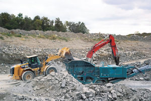 When a plant goes down, aggregate producers want to know somebody has their back, preferably a representative from a dealer or a manufacturer. Photo by Kevin Yanik