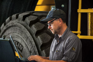 John Deere's Registered Apprenticeship Program will be available to its Agriculture & Turf and Construction & Forestry dealers. Photo courtesy of John Deere