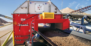 The plant produces C33 concrete sand and mason sand for the Dallas/Fort Worth market. Photo courtesy of McLanahan Corp.