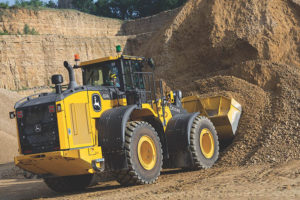 The new L-Class machines are more powerful than the previous models, with an increase of up to 9 percent in horsepower. Photo courtesy of John Deere