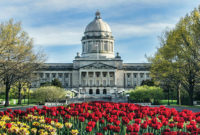 Aggregate producers like Quality Stone & Ready Mix would like to see more action on infrastructure take place at the Kentucky State Capitol in Frankfurt, Kentucky. Photo: iStock.com/fotoguy22