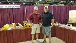 Pat Jacomet, the executive director of OAIMA, left, and Best. Photo courtesy of OAIMA.