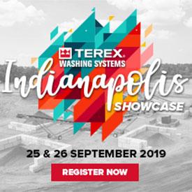 Photo courtesy of Terex Washing Systems