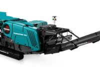 The Premiertrak 330 is designed for a range of applications, including aggregate, recycling and mining. Photo courtesy of Powerscreen