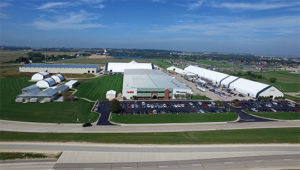 The eastern Iowa manufacturing facility was completed after a $10 million investment to help meet increasing customer demand. Photo courtesy of ClearSpan.