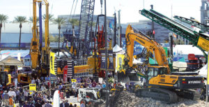 ConExpo-Con/Agg returns March 10-14 in Las Vegas. Photo courtesy of ConExpo-Con/Agg