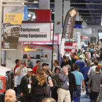 More aggregate producers now seek out certain equipment models at ConExpo-Con/Agg because they've done the research beforehand. Photo courtesy of ConExpo-Con/Agg