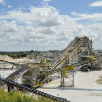 FEC Quarry in Miami is the third-largest producer of crushed stone in the United States, according to the latest United States Geological Survey rankings. Photo by Zach Mentz