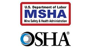 Logos MSHA, OSHA
