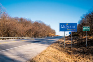 Missouri ranks sixth in the nation in total road miles, but it has the second-lowest combined local, state and federal gas tax at 35.82 cents. Photo: iStock.com/holgs