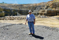 Furgeson is celebrating his 40th year in the quarry business in 2019. Photo courtesy of Van Furgeson