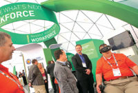 ConExpo-Con/Agg will have an expansive technology exhibit available to attendees. Photo courtesy of ConExpo-Con/Agg