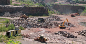 Realizing their business might not survive without its own quarry, Myrl & Roy's Paving purchased a small quarry 30 years ago that has grown into a thriving business. Photo courtesy of Myrl & Roy's Paving
