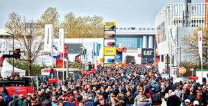 Massive crowds flock this spring to Bauma 2019 in Germany. Photo courtesy of Messe München