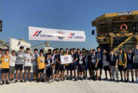 More than 250 runners got a chance to lace up their sneakers and run through the quarry, checking out the heavy machinery and soaking up South Florida's beauty. Photo courtesy of Cemex USA