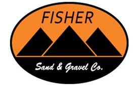 Logo: Fisher Sand & Gravel