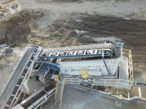 Haver & Boecker Niagara F-Class portable plant