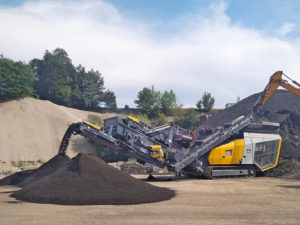 Keestrack will once again present its full-line of mobile processing equipment for the aggregate and recycling industries at ConExpo-Con/Agg 2020. Photo courtesy of Keestrack