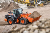 The new cab features a pressurized work environment with a virtually airtight seal to keep out dust and dirt. Photo courtesy of Hitachi