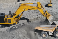 Komatsu's PC1250SP-11 excavator will be at ConExpo-Con/Agg 2020. Photo courtesy of Komatsu