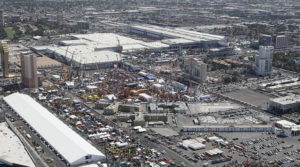 The footprint for ConExpo-Con/Agg is slightly different than it was three years ago. Photo courtesy of ConExpo-Con/Agg