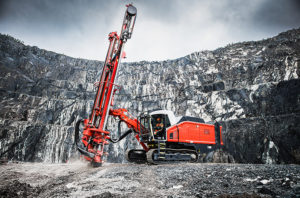 ConExpo-Con/Agg 2020 attendees will be able to try out the Leopard DI650i's performance using a drilling simulator. Photo courtesy of Sandvik Mining & Rock Technology