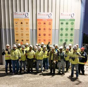 Cemex USA focused Safety Week 2020 on safety through leadership. Photo courtesy of Cemex USA