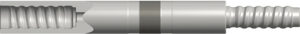 Brunner & Lay is now offering a variety of straight hole drilling tools in the form of guide rods, guide/pilot tubes and shoulder-driven drill tubes. Photo courtesy of Brunner & Lay