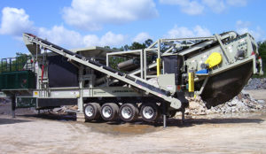 Brand-new Lippmann portable plants should be coming in the new year, according to Metso. Photo courtesy of Lippmann-Milwaukee