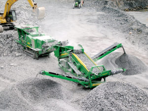 Bringing McCloskey into the fold not only gives Metso better reach to the North American market, but also Northern Ireland. Photo courtesy of McCloskey