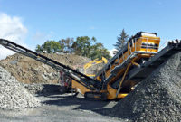 Behind tracked plants such as the SR520, Anaconda Equipment has already brought a number of mobile screening developments to market in North America. Photo courtesy of McLanahan Corp.