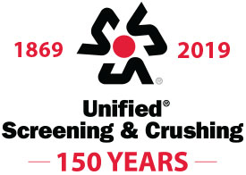 Logo: Unified Screening & Crushing