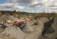 The Gill Quarries operation is located in East Norriton, Pennsylvania. Photo: Doosan