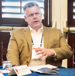 Rogers Group's Trent Carney is interested in autonomous technology, but he expects tech developments to become prevalent first in mining before trickling down to aggregate producers like his company. Photo: PamElla Lee Photography